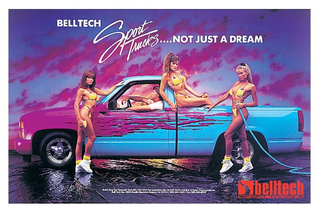 Belltech Sport Trucks Old Ads