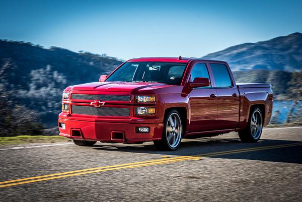 Dodge Ram with Belltech installed