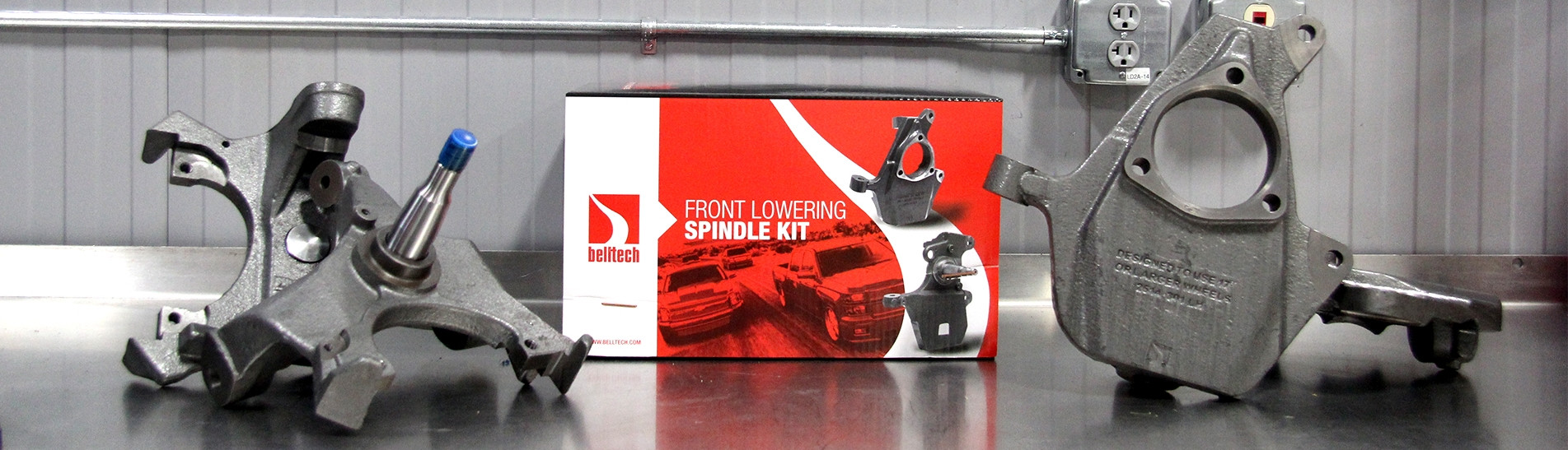 Drop Spindle and Ball Joints Belltech Sport Trucks and