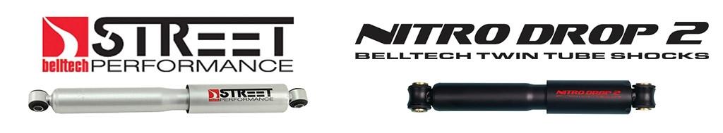"Pair Belltech 99-06 2wd Silverado//Sierra Nitro Drop 2 Front Shocks 0/"" 2/"" Drop"